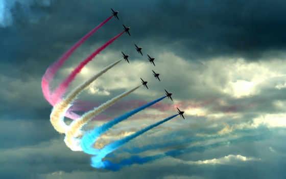 небе, самолеты, самолёт