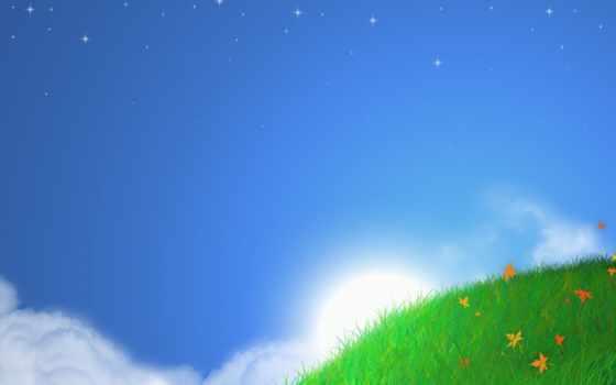 природа, фон, powerpoint, небо, sun, templates,