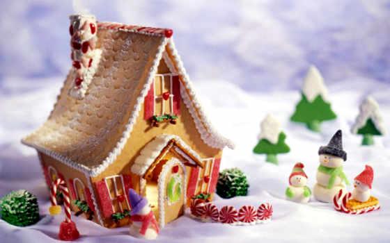 пряник, lodge, house, дек, еда, пряничные, ideas,