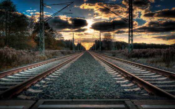 iron, дорога, закат