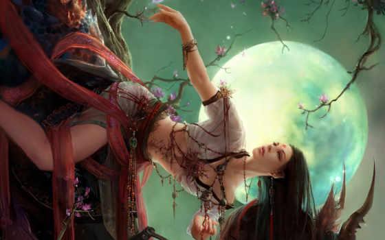 fantasy, girls Фон № 14685 разрешение 1920x1200