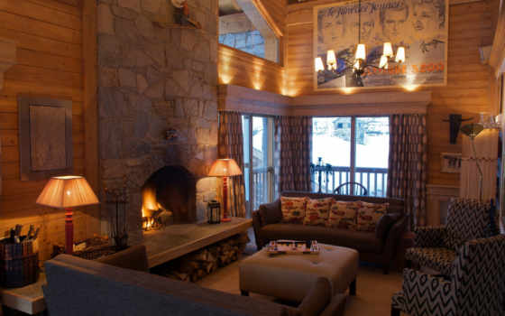 гостиная, интерьер Фон № 18004 разрешение 2560x1600