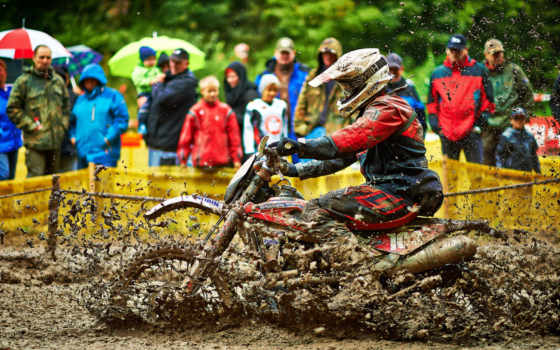 спорт, брызги, мотоциклы, грязь,