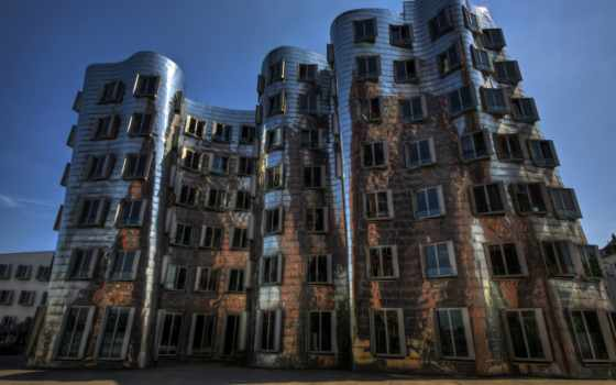 architecture, dusseldorf, германия
