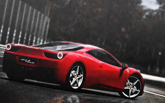 ferrari, italia, автомобили