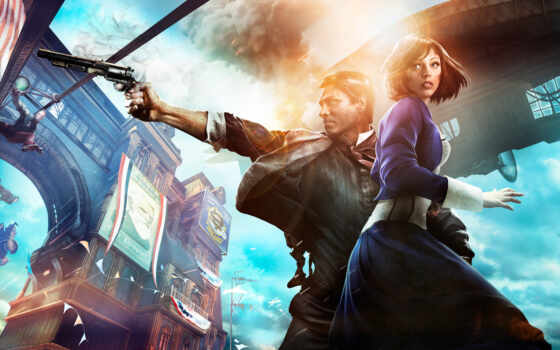 bioshock, infinite, games, издание, complete, игры, elizabeth,