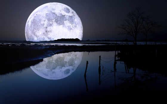 луна, high, фото, луне, качество, full, deita, pictures, природа,