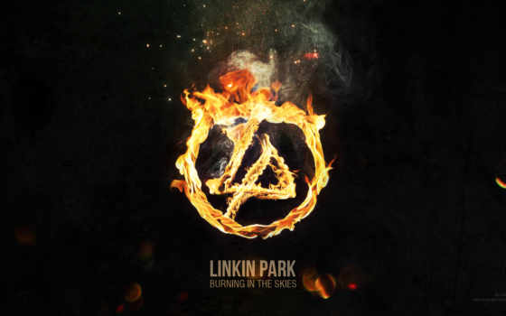 park, linkin, logo
