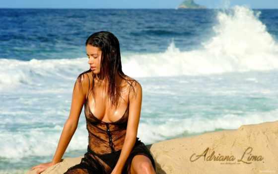 lima, океана, adriana, algo, девушка, плакат, para, модель, hot,