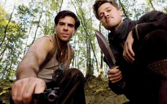basterds, inglourious, eli, roth, the, brad, quot,