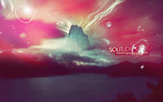 solitude, found, файлов, абстракция, design, стиль, яркие, надпись, not, ecolor, creative, desktopography,