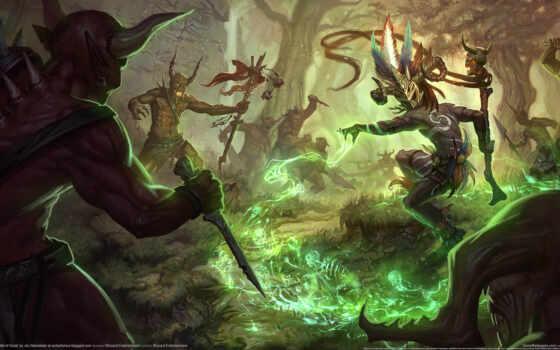 diablo, witch, доктор Фон № 112899 разрешение 2560x1440