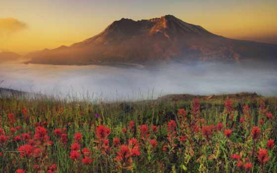 дымка, страница, pic, картинок, гора, туман, первое,