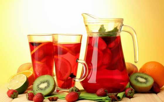 fresh, компот, plod, яблок, ягода, напиток, ребенок