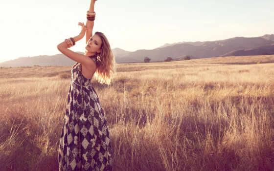 pole, красивый, фотосессия, devushka, poza, ideya, фотография, osen, tysyacha, lit, изображение