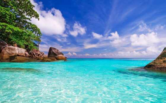 нов, природа, ocean
