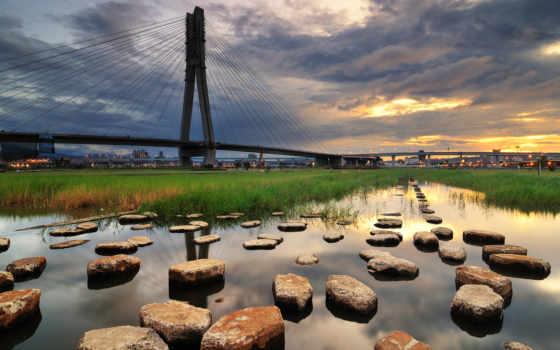amazing, desktop, мосты