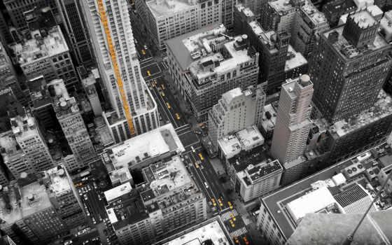 улицы, город, new