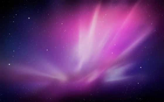 mac, рисунок, но, полярное, случайные, северное, сияние,