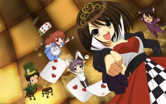 haruhi, suzumiya, melancholy, anime, wonderland, фантастических, научно, заработать, раз, сей, index, посетители, своих, составили, рейтинг, biglobe, любимых, ресурса,