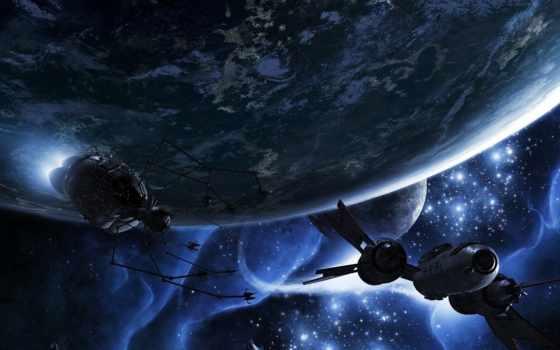 cosmos, планеты, звезды Фон № 113271 разрешение 1920x1080