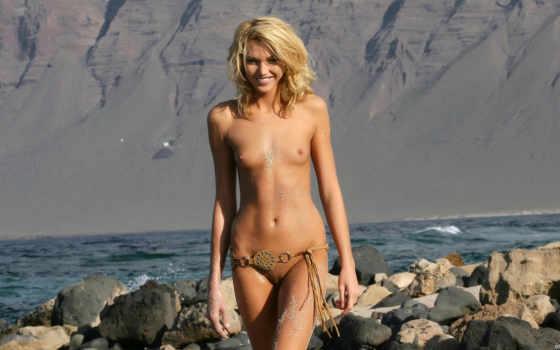 обнаженная, голые, эротический, pictures, hits, голых, girls, пляж, brunette,
