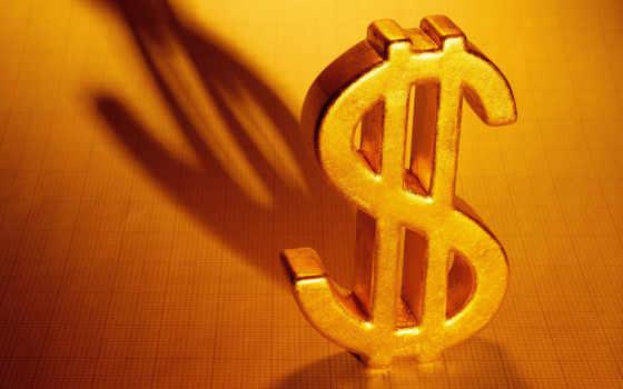 dollar, доллара, золотистый