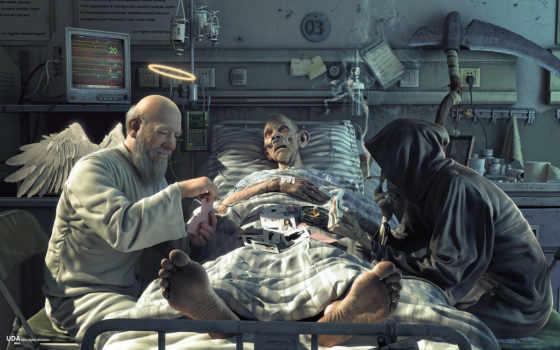 жизни, между, смерть