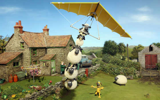 shaun, movie, sheep