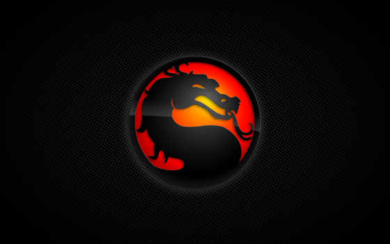 kombat, mortal, дракон, circle, язык,