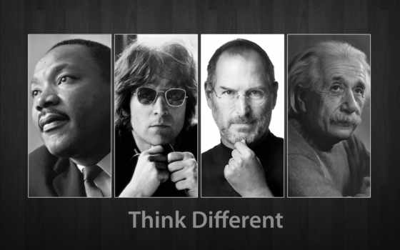 steve, джобс, иначе, apple, jobs, different, albert, думаю, думай, think,