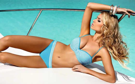 девушка, купальнике, devushki, лежит, купальник, cubonova, петра, красивая, summer, пляже,