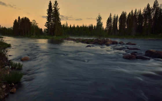 река, лес, ultra, summer, природа, walls,