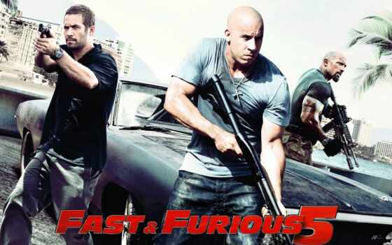 fast, furious, and, the, amp, форсаж, five, vin, d