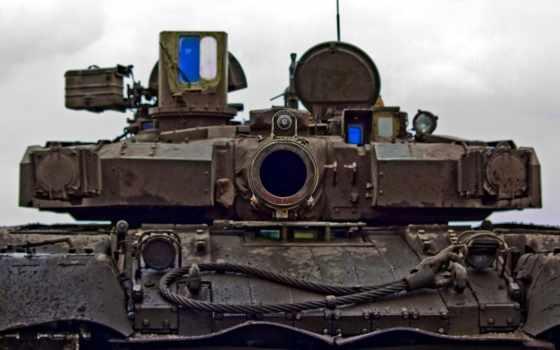 т-90, ствол, башня
