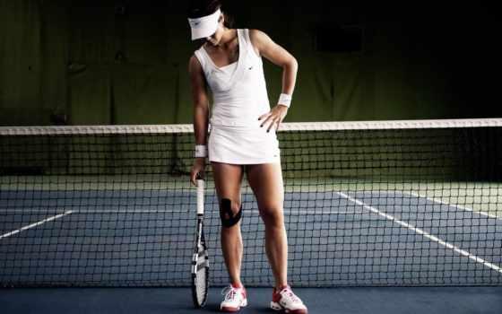 девушка, картинку, картинка, сетка, спортсменка, спорт, теннис, ракетка, кроссовки,