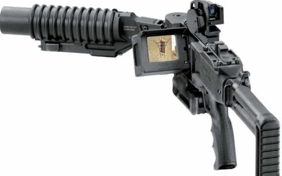 оружие, гранатомёт, corner shot