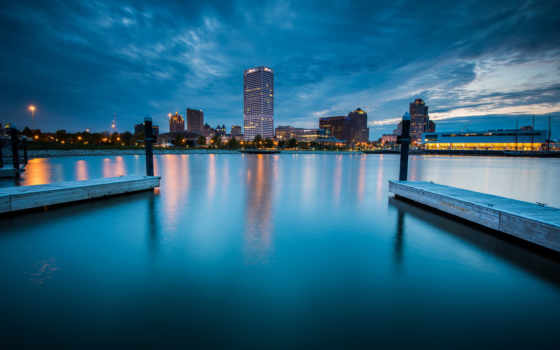 milwaukee, город, prints, ночь, available, designs, choose, favorite,