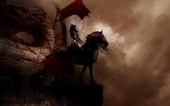картинка, fantasy, дракон
