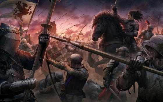 битва, medieval, закат, стиль, beyit, knights, kerem, castle, ages,
