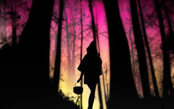 красная, шапка, волк, серый, красной, мама, сказала, февр, лесу, сказки, идёт,