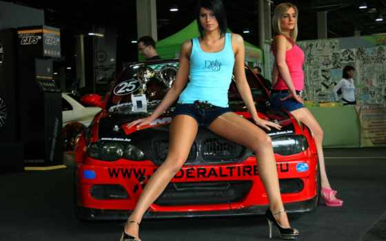devushki, bmw, автомобили