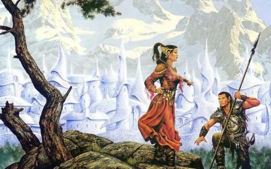 fantasy, ciruelo, cabral, эльфы, evermeet, artist, artwork, forgotten, realms, книга,