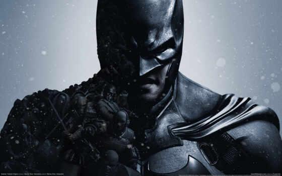 batman, arkham, origin, game, art