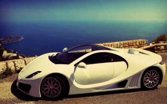 обои, фото, авто, машина, самые, рјрѕсђрµ, белая,