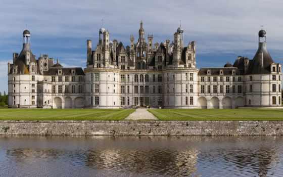 замок, франция, панорамы, панорама, картинка, chateau,