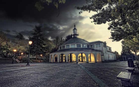брусчатка, chapel, испания