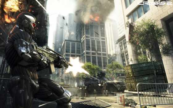 crysis, оружие, shooting, crisis, город, игры, new, york, art, prophet,