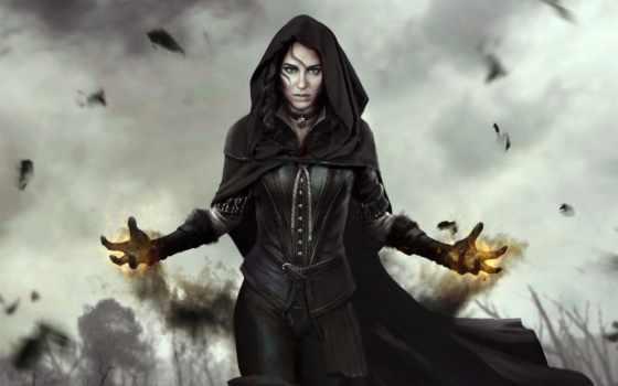 йеннифэр, геральт, ведьмак, цири,