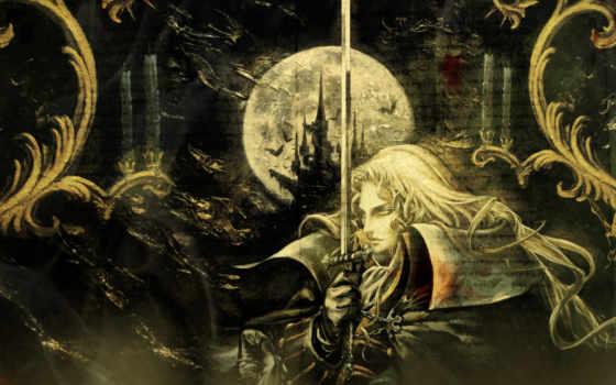 castlevania, ночь, game